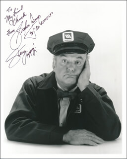 GORDON JUMP - AUTOGRAPHED INSCRIBED PHOTOGRAPH 1998