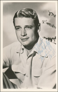 TED NORTH - INSCRIBED PHOTOGRAPH SIGNED TWICE CIRCA 1948