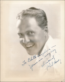 PHIL DUEY - AUTOGRAPHED INSCRIBED PHOTOGRAPH