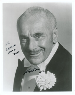 FRITZ FELD - AUTOGRAPHED INSCRIBED PHOTOGRAPH