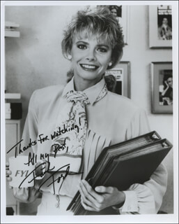 FAITH FORD - AUTOGRAPHED SIGNED PHOTOGRAPH