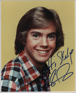 SHAUN CASSIDY - AUTOGRAPHED INSCRIBED PHOTOGRAPH