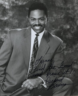 RICHARD LAWSON - AUTOGRAPHED INSCRIBED PHOTOGRAPH