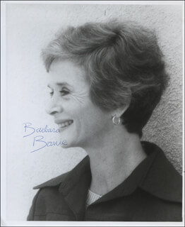 BARBARA BARRIE - AUTOGRAPHED SIGNED PHOTOGRAPH