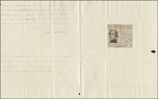 MAJOR GENERAL JOHN E. WOOL - AUTOGRAPH LETTER DOUBLE SIGNED 06/20/1830