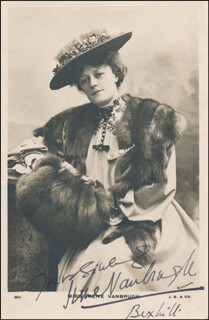 DAME IRENE VANBRUGH - PICTURE POST CARD SIGNED
