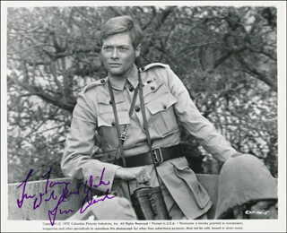 SIMON WARD - AUTOGRAPHED INSCRIBED PHOTOGRAPH