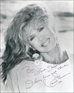 CONNIE STEVENS - AUTOGRAPHED INSCRIBED PHOTOGRAPH 1990