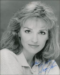 SAGAN (SUSAN J.) LEWIS - AUTOGRAPHED INSCRIBED PHOTOGRAPH