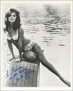 PAMELA TIFFIN - AUTOGRAPHED INSCRIBED PHOTOGRAPH