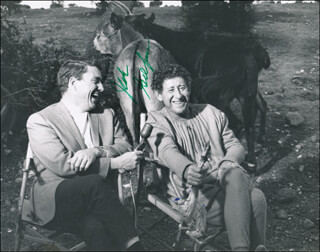 JACK GILFORD - AUTOGRAPHED SIGNED PHOTOGRAPH