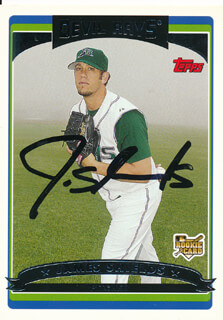 JAMES SHIELDS - TRADING/SPORTS CARD SIGNED