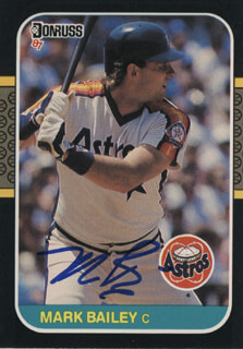 MARK BAILEY - TRADING/SPORTS CARD SIGNED