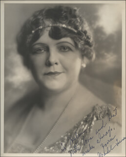 MAIDEL TURNER - AUTOGRAPHED INSCRIBED PHOTOGRAPH