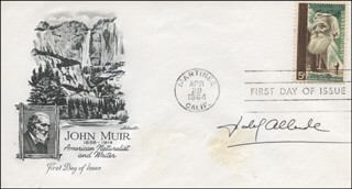 Autographs: ISABEL ALLENDE - FIRST DAY COVER SIGNED