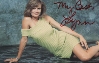 LYNN HERRING - AUTOGRAPHED SIGNED PHOTOGRAPH