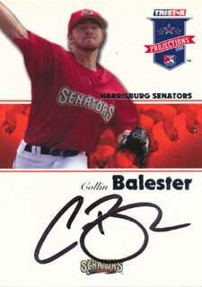 COLLIN BALESTER - TRADING/SPORTS CARD SIGNED