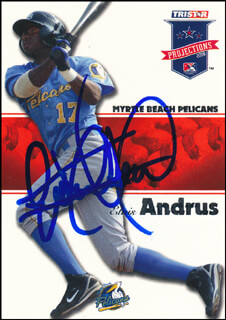 ELVIS ANDRUS - TRADING/SPORTS CARD SIGNED