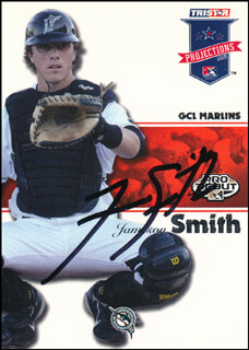 JAMESON SMITH - TRADING/SPORTS CARD SIGNED