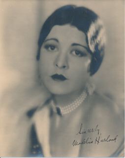 MADELINE HURLOCK - AUTOGRAPHED SIGNED PHOTOGRAPH