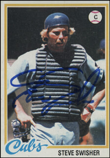 STEVE SWISHER - TRADING/SPORTS CARD SIGNED