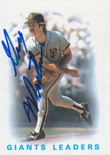 GREG MOON MAN MINTON - TRADING/SPORTS CARD SIGNED