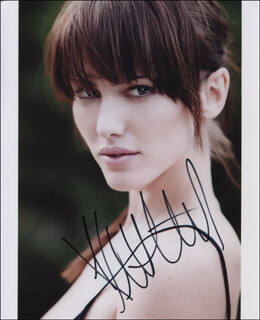 KRISTEN CARPENTER - AUTOGRAPHED SIGNED PHOTOGRAPH