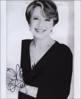 NANCY DUSSAULT - AUTOGRAPHED SIGNED PHOTOGRAPH