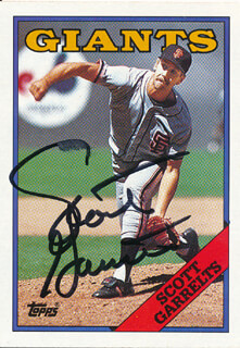 SCOTT GARRELTS - TRADING/SPORTS CARD SIGNED