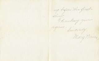 MARY BRIAN - AUTOGRAPH LETTER SIGNED 06/13/1932