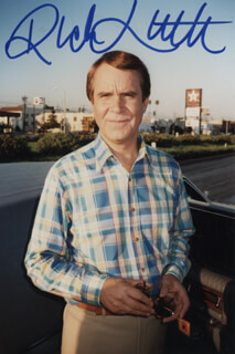 RICH LITTLE - AUTOGRAPHED SIGNED PHOTOGRAPH