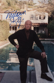 TURHAN BEY - AUTOGRAPHED SIGNED PHOTOGRAPH