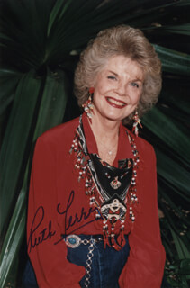 RUTH TERRY - AUTOGRAPHED SIGNED PHOTOGRAPH