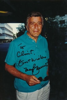 TONY BENNETT - AUTOGRAPHED INSCRIBED PHOTOGRAPH