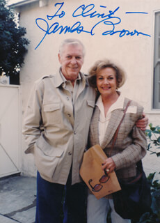 JAMES L. RIP BROWN - AUTOGRAPHED INSCRIBED PHOTOGRAPH