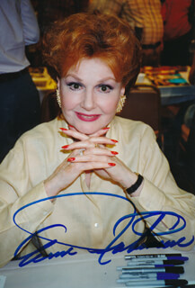 ANN ROBINSON - AUTOGRAPHED SIGNED PHOTOGRAPH  - HFSID 326633