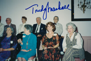 TRUDY MARSHALL - AUTOGRAPHED SIGNED PHOTOGRAPH