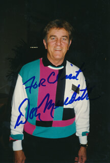 DON MEREDITH - AUTOGRAPHED INSCRIBED PHOTOGRAPH