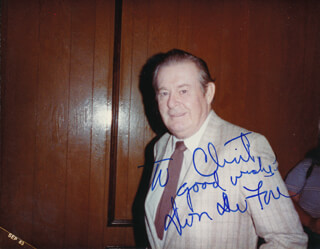 DON DEFORE - AUTOGRAPHED INSCRIBED PHOTOGRAPH