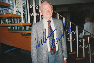 WILLIAM BILLY BENEDICT - AUTOGRAPHED SIGNED PHOTOGRAPH