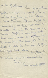 LAURENCE HUTTON - AUTOGRAPH LETTER SIGNED 01/19/1903