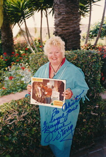 JUNE STOREY - AUTOGRAPHED INSCRIBED PHOTOGRAPH