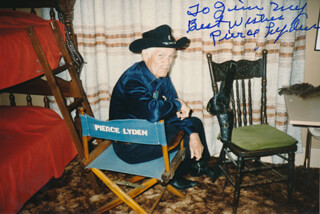 PIERCE LYDEN - AUTOGRAPHED INSCRIBED PHOTOGRAPH