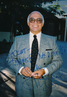 GAVIN MacLEOD - AUTOGRAPHED INSCRIBED PHOTOGRAPH