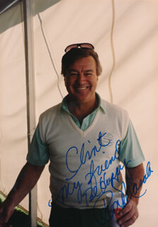 RON MASAK - AUTOGRAPHED INSCRIBED PHOTOGRAPH