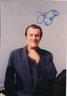 TOMMY SANDS - AUTOGRAPHED SIGNED PHOTOGRAPH