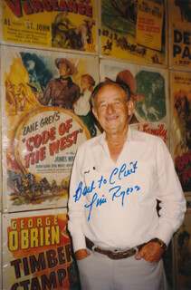 JIM ROGERS - AUTOGRAPHED INSCRIBED PHOTOGRAPH
