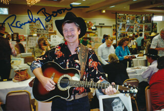 RANDY BOONE - AUTOGRAPHED SIGNED PHOTOGRAPH