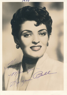 SUZAN BALL - AUTOGRAPHED INSCRIBED PHOTOGRAPH CIRCA 1954