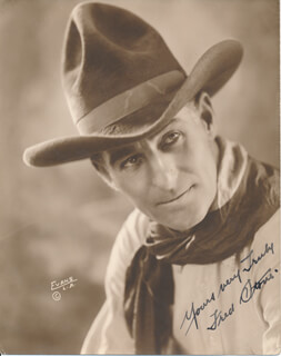 FRED A. STONE - AUTOGRAPHED SIGNED PHOTOGRAPH